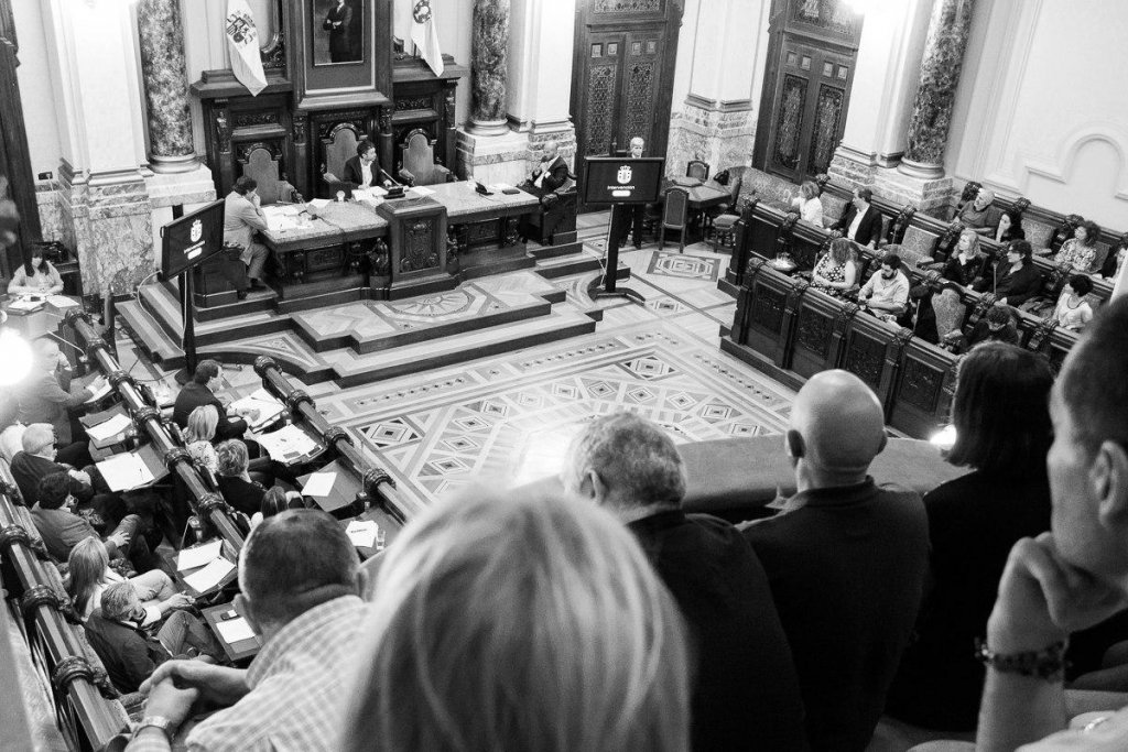 Pleno de Organización do Concello da Coruña