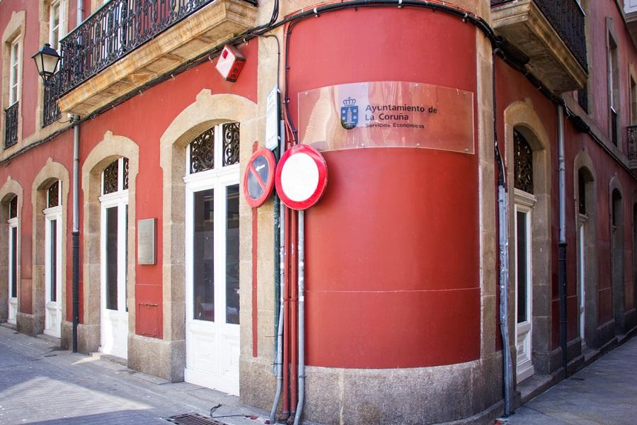 Edificio Servizo Económicos Concello da Coruña -